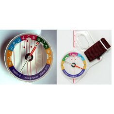Moscompass 8R* Elite - høyrehånds tommelkompass