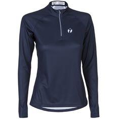Run Zipp Shirt LS Women Midnight Blue XS