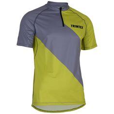 Trail Shirt SS Men Light Steel / Lime L