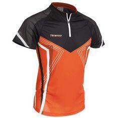 Speed O-Shirt SS Jr Orange / Black / White 130