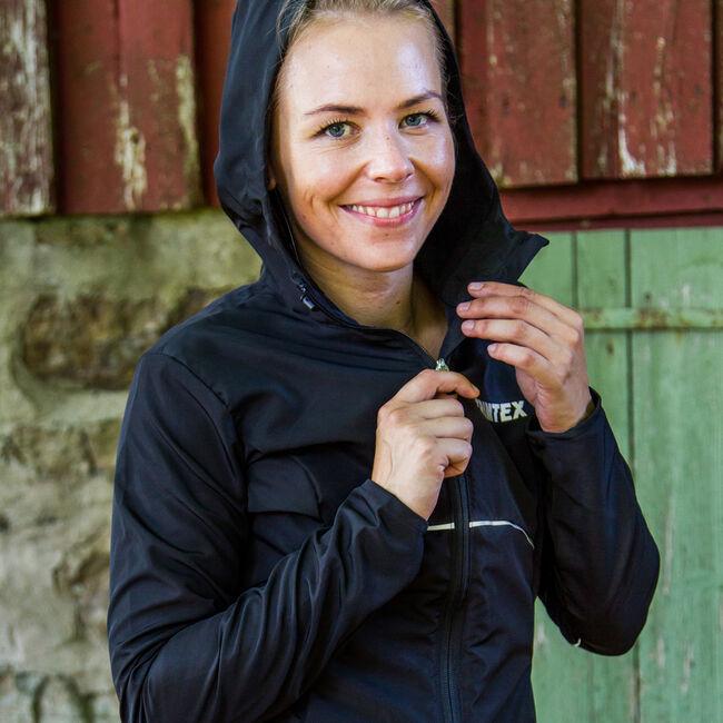 Performance hoodie dame