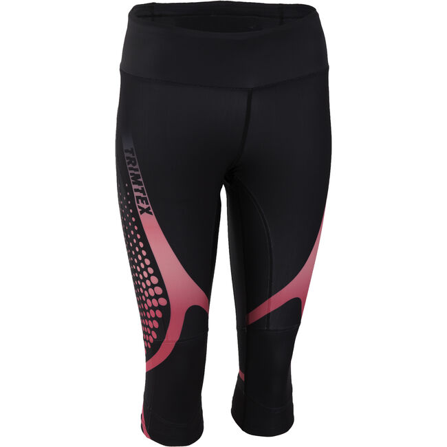 Compress 3/4 tights dame - Revised