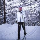 Aviator skijakke dame