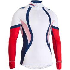 Vision 2.0 Raceshirt LS Men White / Classic Red S