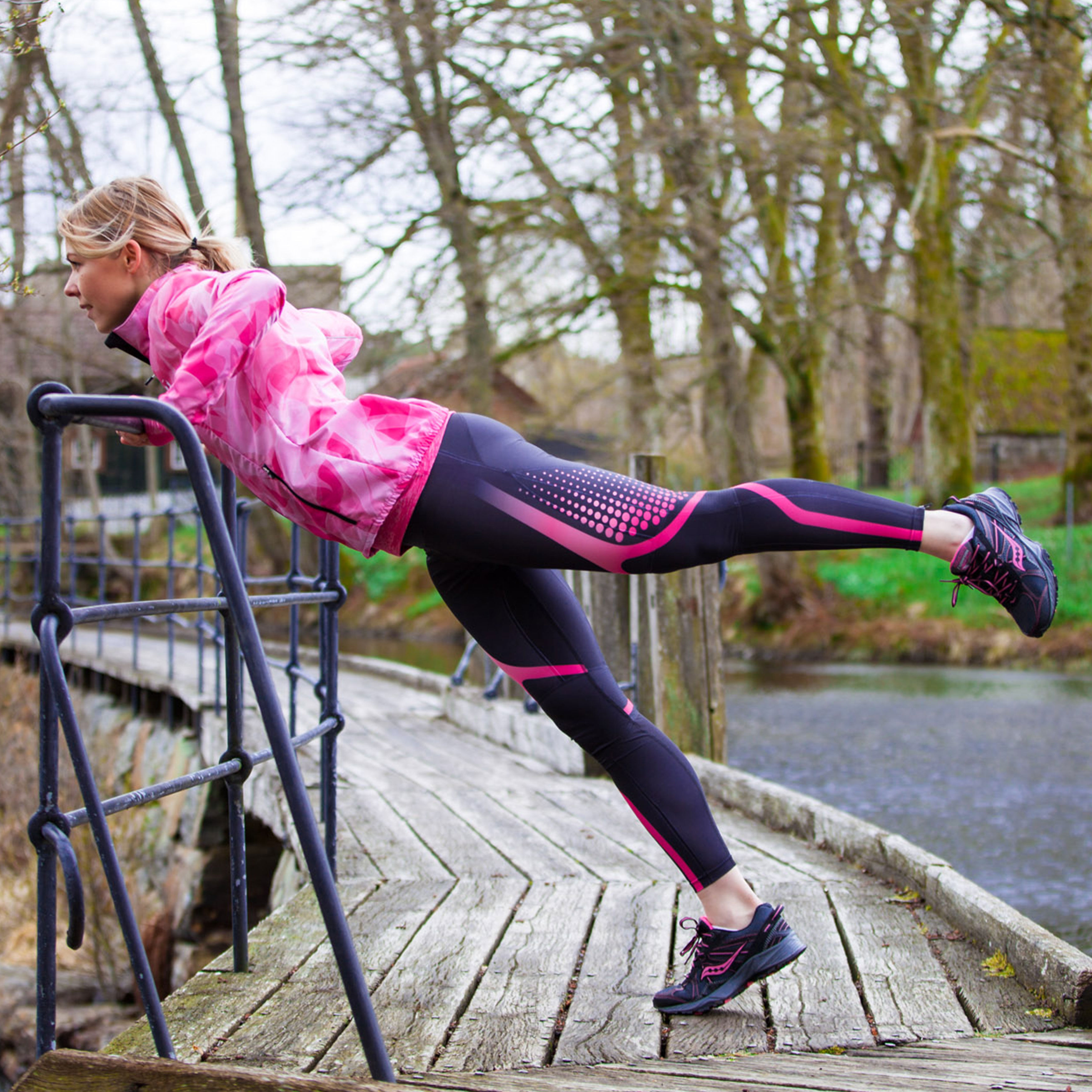 Flott treningsjakke til dame for trening og fritid