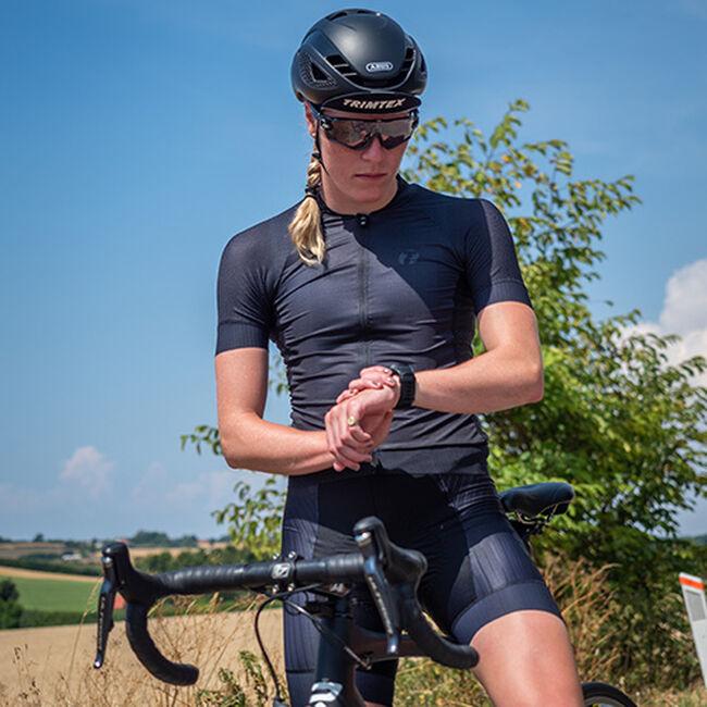 Aero Bib sykkelshorts dame