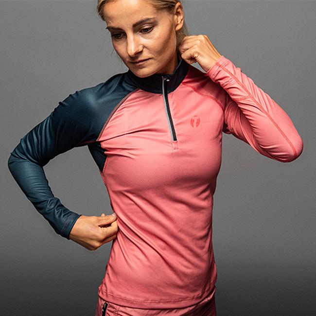 Run Zipp Shirt LS Women