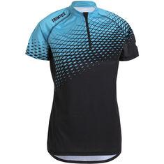 Trail Shirt SS Women Black / Vibrant Turquoise XS